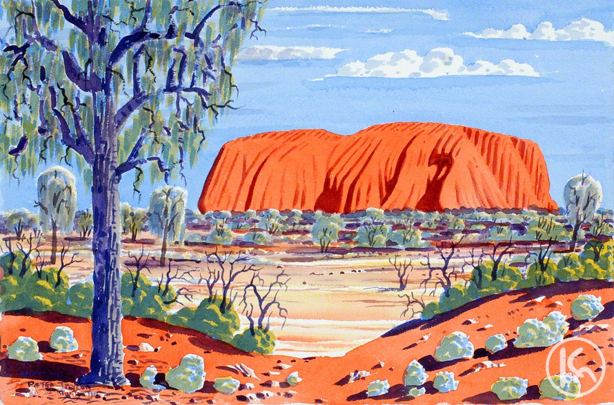 namatjira aboriginie künstler