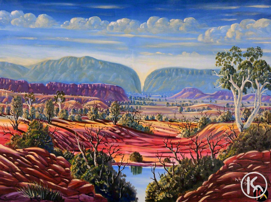 uluru ayers rock by peter taylor tjutjatja from alice springs