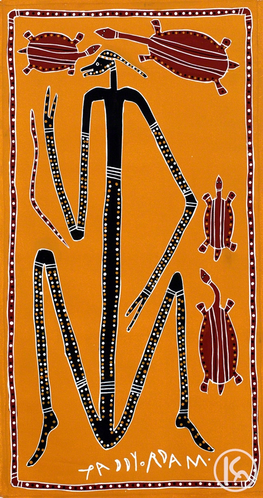 Dancing Mimi with Long Neck Turtles (021109), Paddy Fordham Wainburranga