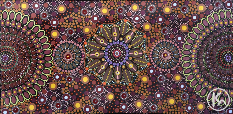 Free Coloring Pages Of Aboriginal Dot Art