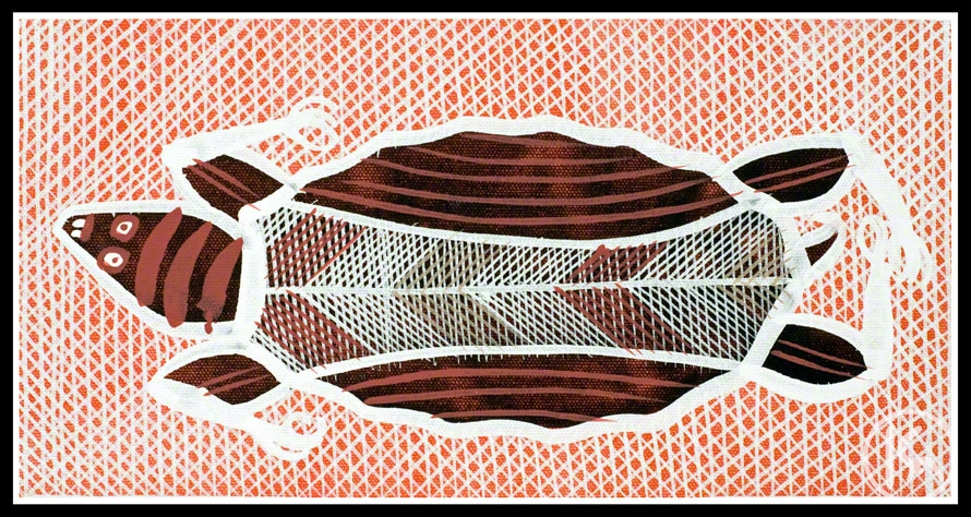 Turtle Spirit By Edward Blitner From Katherine Northern Territory