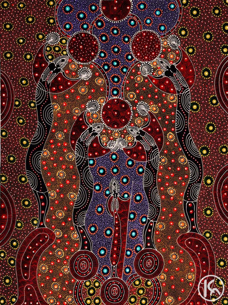 Dreamtime Sisters (11032298), Colleen Wallace Nungari