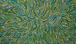 17062605 Web Janet Golder Kngwarreye Bush Yam Leaves5616 X 3744 145X142cm 165000