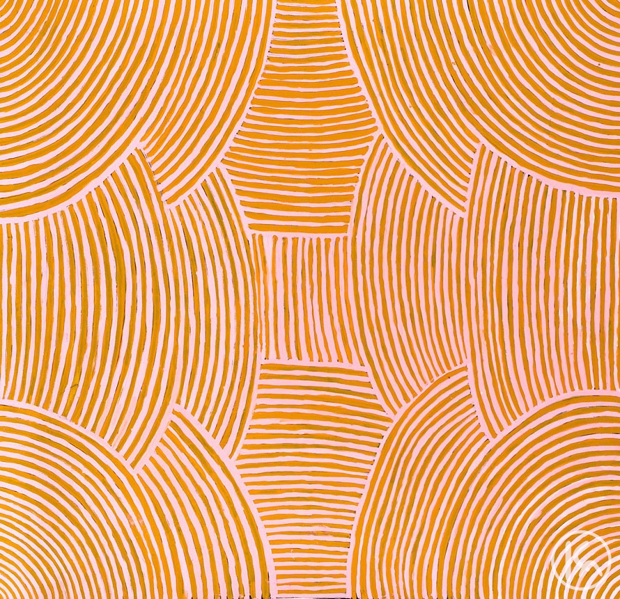 Awelye (Body Paint Design) (040590), Myrtle Petyarre