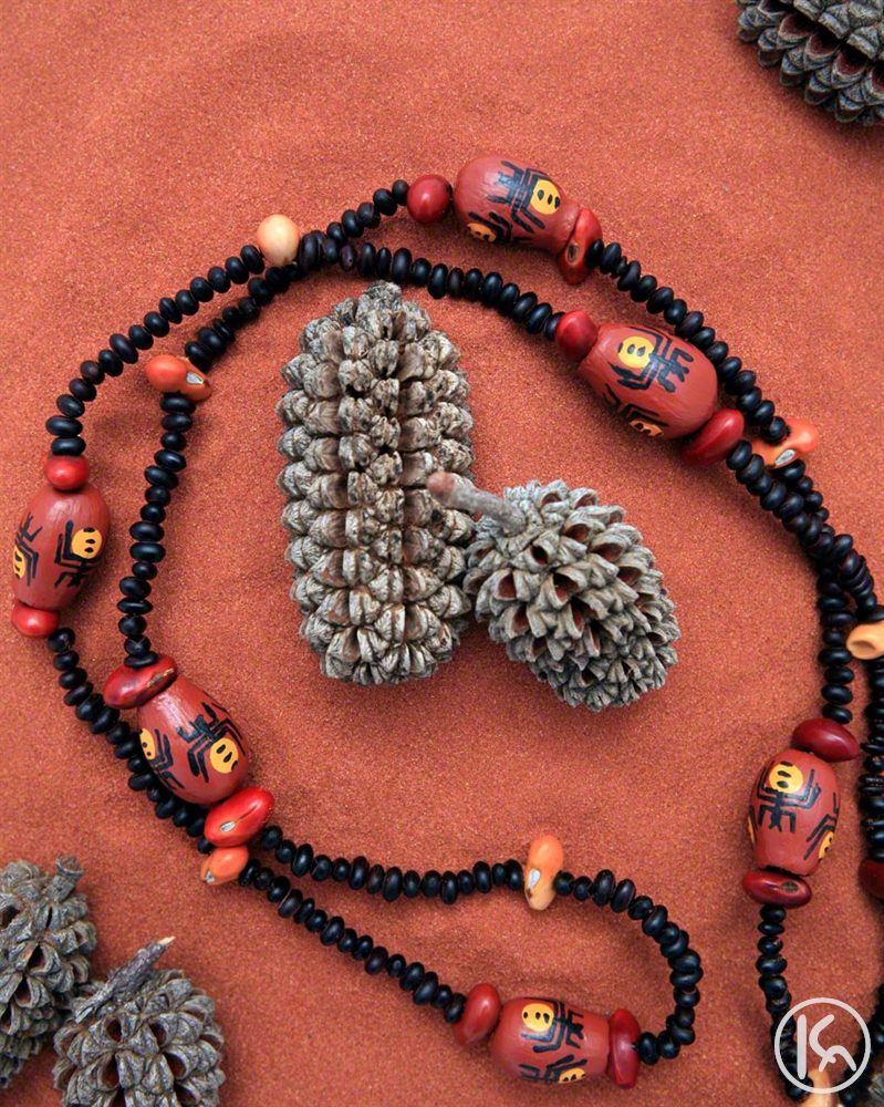 Ininti Seed Necklace (LC0902037), Leonie Campbell