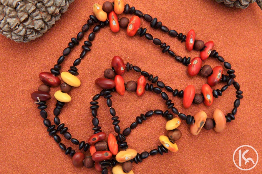 Ininti Seed Necklace (LC0903053), Leonie Campbell