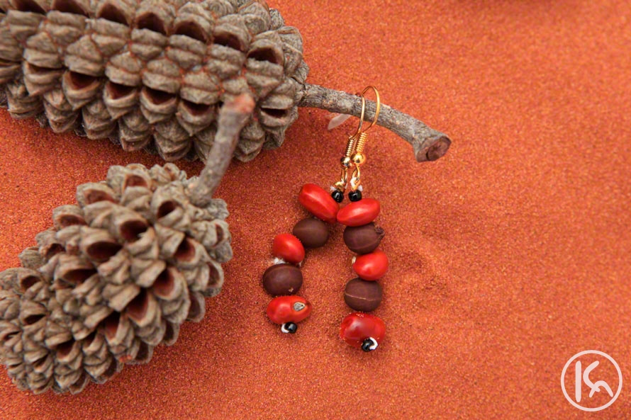 Ininti Seed Earrings (LC0903066), Leonie Campbell
