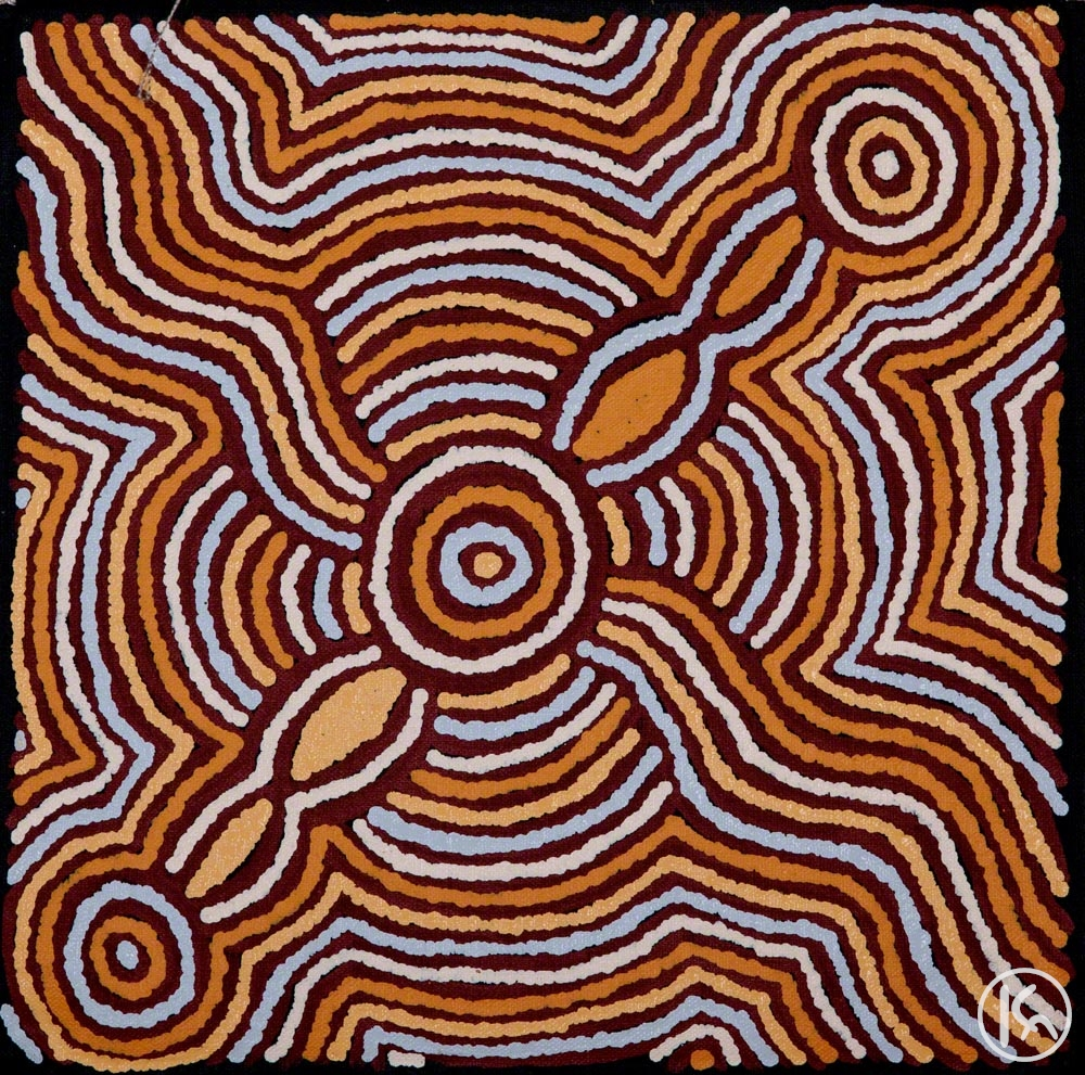 Ceremonial Sites (14092584), Mavis Jugadai Napaltjarri